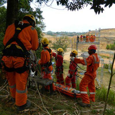 Vertical Rescue Training